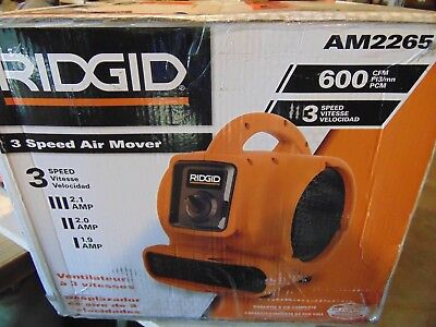 Ridgid 3 Speed Air Mover- Am- 2265