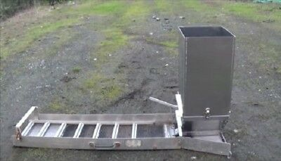 """Sluice Box Feeder"", feeds material into your sluice box. Fits most sluice boxes"