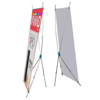 X Banner Stand Tripod Trade Show Display Sign 60x160CM Advertising Hardware Only