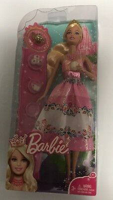 Barbie Princess Doll Pink With Tea Set Brand New In Box!