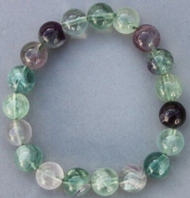 "Bracelet Fluorine multicolore 10 mm ""Large"""