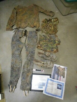 2001 Planet Of The Apes Screen Worn Human Warrior/caveman Costume/wardrobe W/coa
