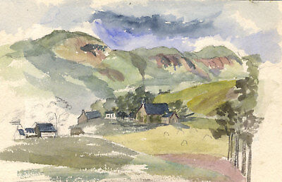 Pair of Late 19th Century Watercolour - Landscape Views