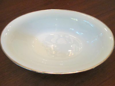 OVAL VEGETABLE BOWL! Vintage NORITAKE china: SILVERDALE pattern: LOVELY!