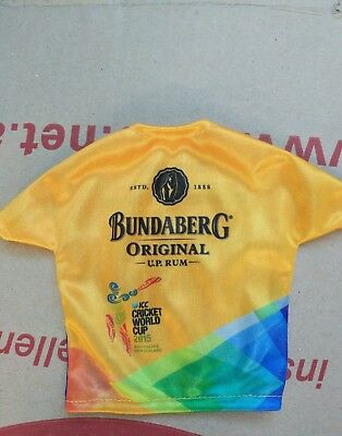 Bundaberg Rum Bottle Mini Jersey Cricket World Cup 2015