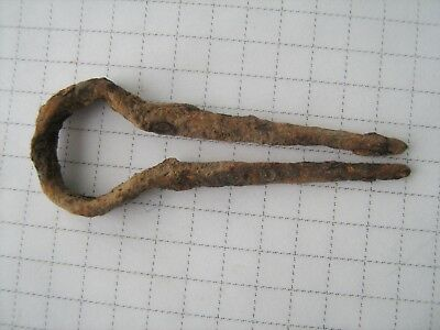 Ancient medieval jew's-harp (musical instrument).
