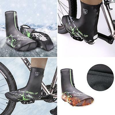 ES_ HK- Bike Cycling Shoe Covers Warm Cover Rain Waterproof Protector Overshoes