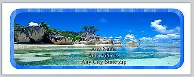 30 Personalized Address Labels Beach Buy 3 get 1 free (ac 513)