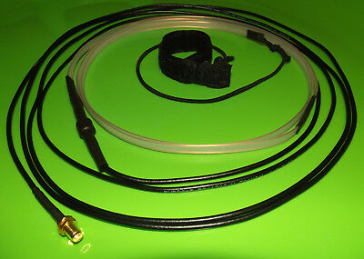 Dual band 2M/70CM J-Pole/Slim Jim Antenna With 3m coax cable,SMA-Female connecto