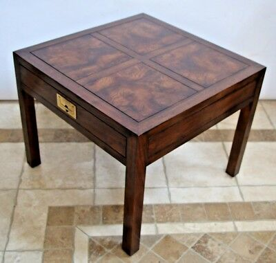 Henredon Furniture Folio 16 Chinese Asian Influenced Style End Table nightstand