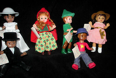 Lot 6 Madame Alexander McDonald 2001, 2002 Dolls No1,2,3,4,5 & 6 YOURS Come MIP