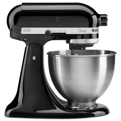 NEW KitchenAid Classic KSM45 Black Onyx Stand Mixer