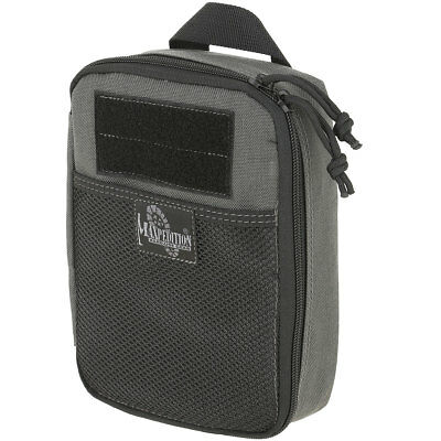 "Maxpedition 0266W BEEFY Pocket Organizer 6"" x 2.5"" x 8"" Wolf Gray"