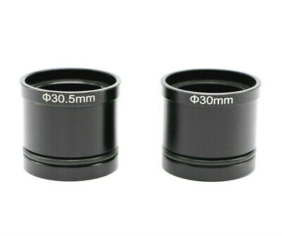 Microscope Eyepiece Adapter from 23.2 to 30 30.5mm Tube for Electronic Eyepiece