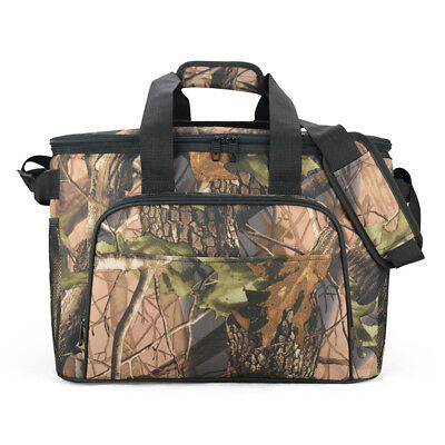 EAGLEMATE 36L CAMO Soft Cooler Insulated Picnic Bag for Camping ,Hiking and Fish