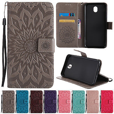For Samsung Galaxy J5/J7 Pro Magnetic Flip Stand Card Wallet Leather Case Cover