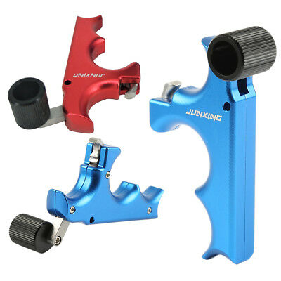 3 Finger Grip Caliper Arrow Release Aids for Compound Bow Hunting Archery O8GI