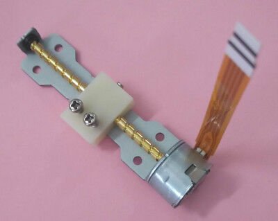 2-Phase 4-Wire DC 5v Micro Stepper Motor w/ linear screw slider moving block DIY