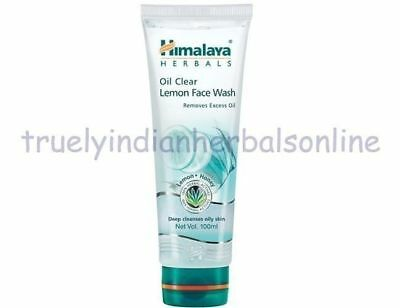 Himalaya Herbal Oil Clear Lemon FaceWash Removes Excess Oil & Refreshes Skin50ml