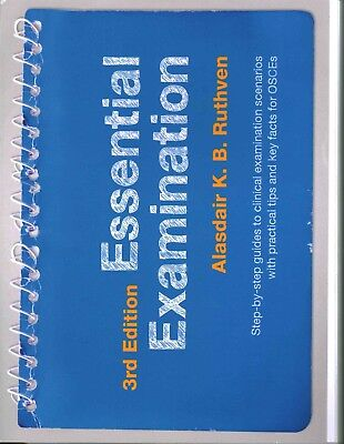 Essential Examination, 3rd Edition: Step-By-step Guides to Clinical Examination