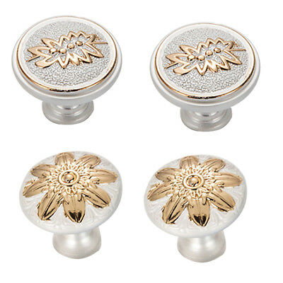 4Pcs Europe Kitchen Cabinet Pull Handles Drawer Dresser Cupboard Door Knobs