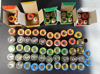 Lot of Approx. 60 Screw in Base Fuses, Loose NOS, Various Sizes, Brands, Styles