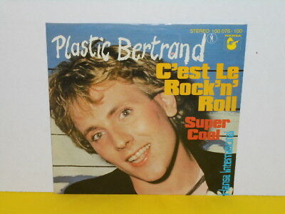"Single 7"" - Plastic Bertrand - C'est Le Rock'n Roll"