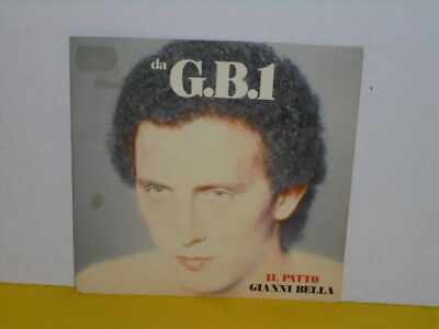 "Single 7"" - Gianni Bella - Il Patto"