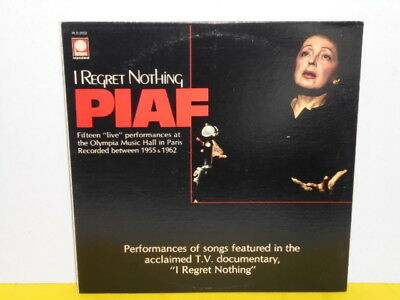 Lp - Edith Piaf - I Regret Nothing