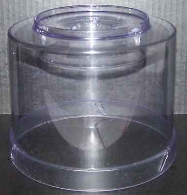 Krups Ice Cream Maker Model 337 Replacement Clear Lid Dome Cover w feeder hole