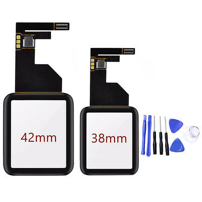 Touch Screen Glass Digitizer Replacement for Apple Watch iWatch 1st Gen 38/42mm