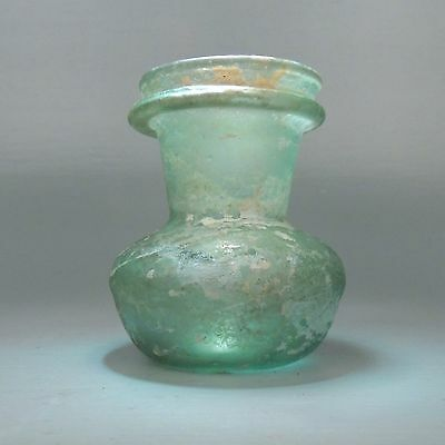 Ancient Roman Glass Vessel or Jar - Circa 2,000 years old GL
