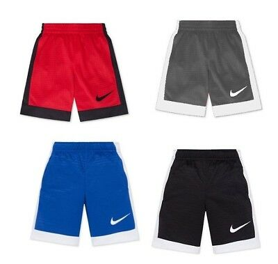 New Nike Boys' Assist Shorts Size 2T 3T 4 5 6 and 7