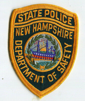 New Hampshire State Police - Dept of Public Safety Patch // FREE US Shipping!