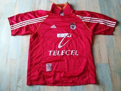 Maillot FOOT ADIDAS SLB BENFICA LISBONNE TELECEL TAILLE M/D5 TBE