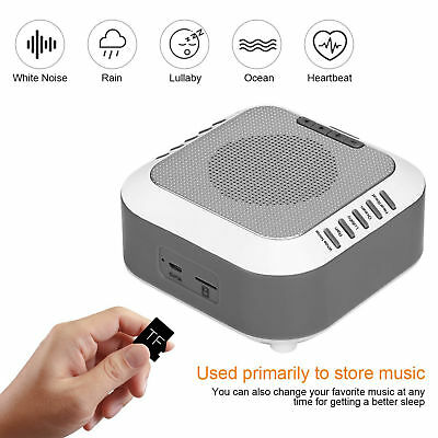 Baby Night Soothing White Noise Machine Relax Easy Sleep Sound Therapy Sleep Aid