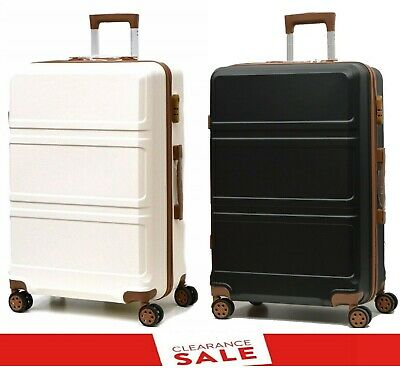 High Quality 4 Wheels Super Lightweight Hard Shell Trolley Cases Suitcases