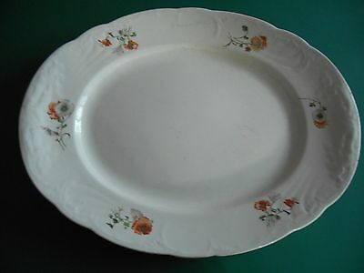 Vintage Booths Royal Semi Porcelain Meat/Serving Plate In Good Condition