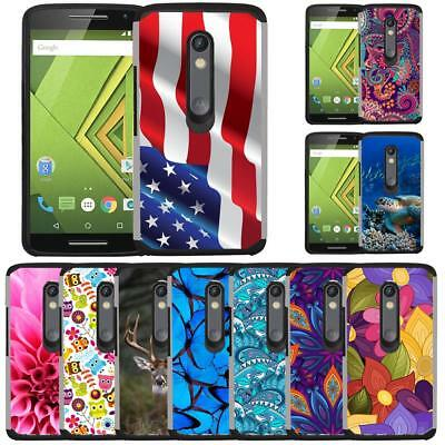 Slim Hybrid Armor Case Cover for Motorola Moto G Play XT1607 XT1609 Moto G4 Play