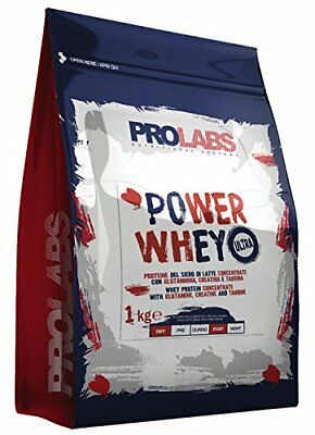 Prolabs Power Whey Ultra Vaniglia - Busta da 1kg (X4W)