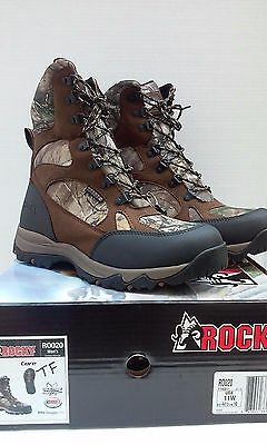 "Men's Rocky ""RO020"" -- 9"" Core-Hiker Waterproof Insulated Camo Hunting Boot"