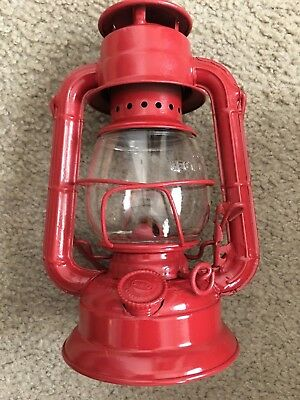 Dietz Comet H-4 Red Lantern Lamp Oil Vintage ?