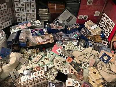 *wholesale* - Mega Coin Hoard - Silver, Gold, Graded, Raw & More - Pcgs Ngc Sets
