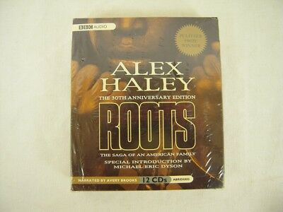 Roots : The Saga of an American Family by Alex Haley (2007, CD, Abridged) 12 CDs