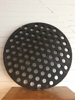 Vintage Industrial Foundry Mold Large Wooden Form