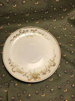 Vintage Antique Hand Painted Nippon China Porcelain Ceramic Tea Cup Dish