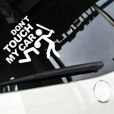 don't touch my car Car Sticker  Auto Car Bumper Vehicle Window Funny Vinyl Decal