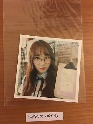 PRISTIN ROA Official Postcard PHOTOCARD #3 2nd Mini Album SCHXXL OUT 로아