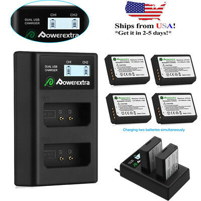 LP-E10 Battery Pack & Dual Charger For Canon Rebel T3 T5 T6 EOS 1100D 1200D Cam