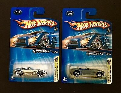 Hot Wheels 2005 First Editions Ford Shelby Gr1 Concept Chrome & Comolded Wheels